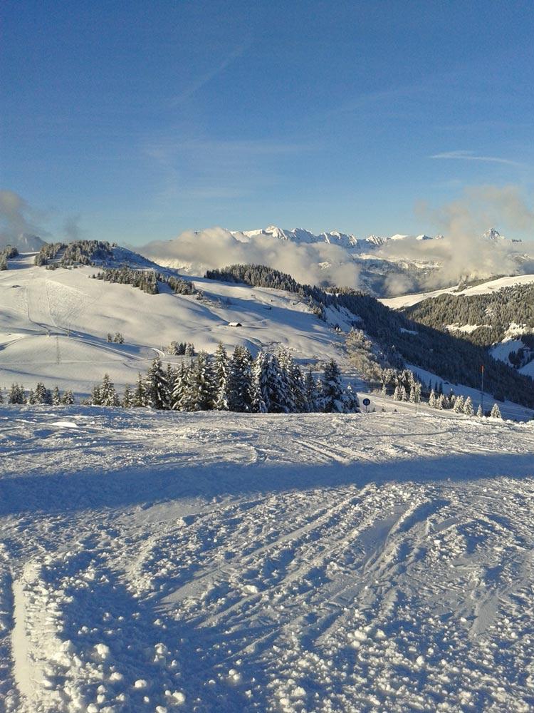 Domaine skiable des Saisies