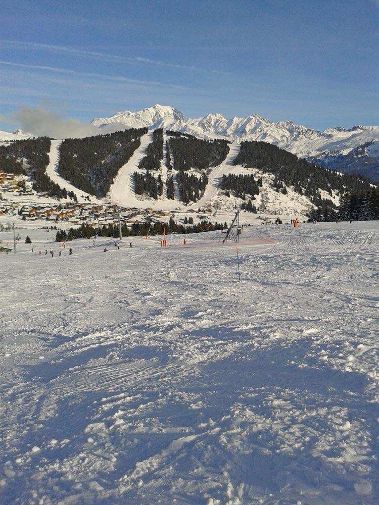 Le domaine skiable des Saisies Mont Blanc