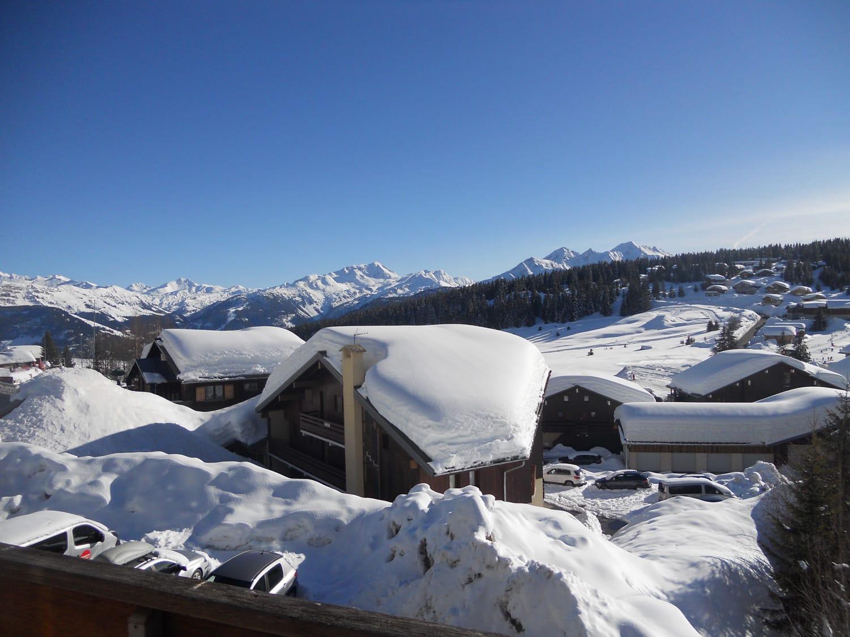 Appartement avec vue plein sud sur les sommets du Beaufortain