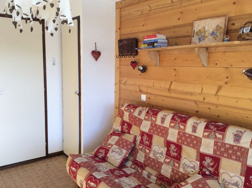 Couchage 2 places clic clac