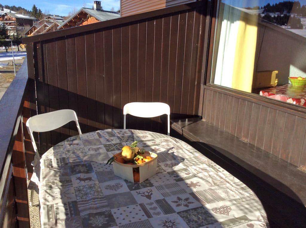 Achat appartement avec coin repas sur la terrasse Sud