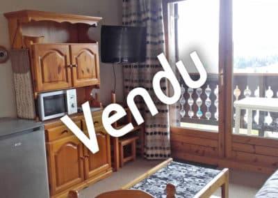 Vente appartement de type studio-cabine